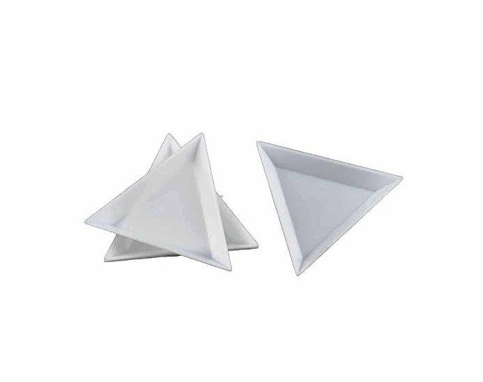 Triangle coupelle de tri pour perles 75 mm
