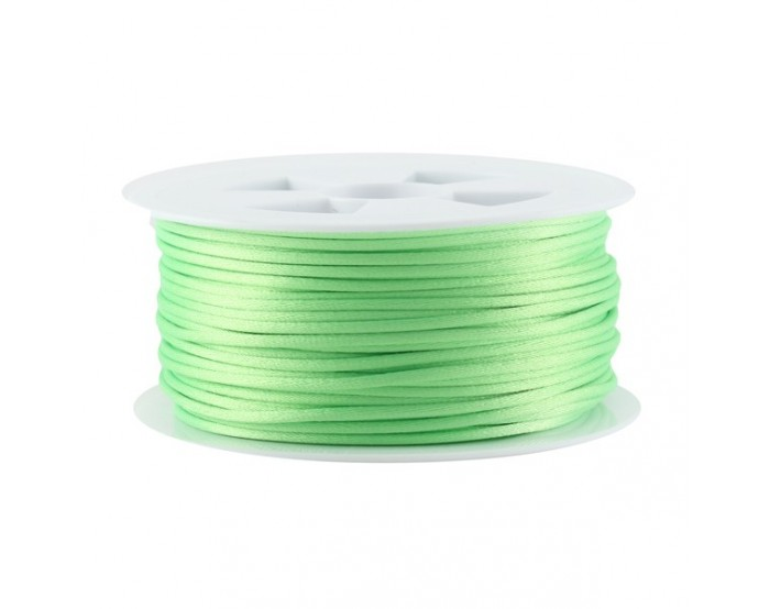 Queue de rat vert clair fluo 1,5/2,2mm x1m