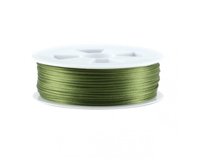 Queue de rat vert olive 1,5/2,2mm x1m