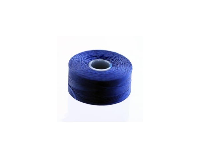 Bobine 71m Fil C-lon 0.06mm bleu royal